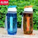Hot Leak-proof Shaker Sport Water Bottle Lemon Juice Space Cup Outdoor/Travel/Bicycle/Camp