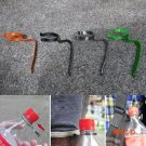 2PCS/LOT EDC Universal Bottle Hook Bottle Hanger Clip Match Paracord Camping Survival Equi
