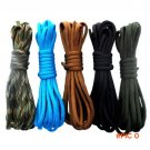 25FT 210 colors Can Choose Paracord 550 Rope Mil Spec Type III 7Strand Paracorde Outdoor S