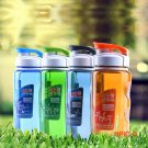 470ml Plastic Sports Water Bottle Space Cup Bike/Outdoor/Camping Protein Powder Shaker Bottle BC316