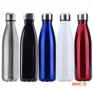 500ml Sports Water Bottle Cycling Camping Bicycle Sports Stainless Steel Double Wall Vacuu