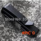 5 PCS EDC camping equipment 38mm Black Quick Slip Keeper Buckle clip Slider For Molle Tact