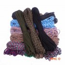 50FT 210 Colors Paracord 550 Rope Mil Spec Type III 7Strand Paracorde Outdoor Survival Cam