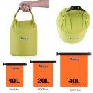 Portable 10L 20L 40L Waterproof Dry Bag Outdoor Camping Foldable Canoe Kayak Rafting Sport