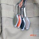 EDC Gear Mini LED Flash Lighter Keychain Emergency Survival Pocket Tools Hiking Outdoor Eq