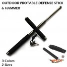 Outdoor Self-defense Stick/Hammer Protable Camping Hiking Survival Tool Self Defense Stick
