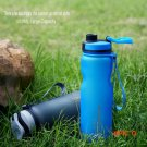 1000ML Colorful Student Sport Water Tumbler outdoor Camp Portable Plastic Water Bottle Out