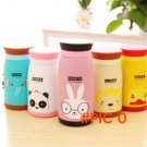2015 Cute Animals Design Thermal Insulation Water Bottle Panda Giraffe Rabbit Duck Lion Bo