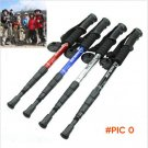 Camping Equipment Outdoor Trekking Poles 4 Hiking Pole Aluminum Alloy Nordic Walking Stick