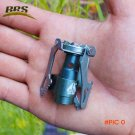 BRS Portable camping Gas Stove Hiking Picnic 2700W MINI lightweight Gas burner Titanium ou