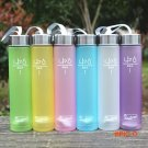 6Colors Frosted Leak-proof Plastic Cup 280ML H2O Unbreakable Portable Sports Water For Out