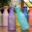 550ml Unbreakable Portable Leak-proof Cup Portable Water Bottle Outdoor Sports Travel Runn