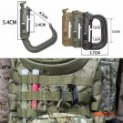 Ultra-light Camping Bag Backpack Buckle Outdoor Hiking Locking Snap D-Ring Clip Shackle Ca