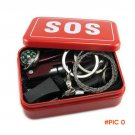 Portable Emergency Outdoor Equipment Emergency Bag Survival Kit Box Self-help Box SOS Equi