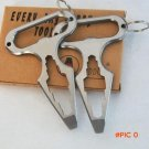 3 Holes Stainless Camp Knot Edc Tool Climbing Carabiner Climbing Survival Buckles Outdoor