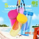 NEW cartoon Healthy Silicone Cup Lid TOP ; Water Drinking Cup Mug's Lid Cover TOP Anti