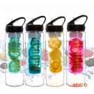 New 2 in1 Lemon Water Bottle Infuser & Integrated Lemon Juicer Enriching Design Unbeat