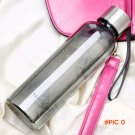 Outdoor Stainless Steel Retractable Cups Folding Portable Travel Drinking Cup With Keychai