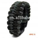 Wholesale Fashion Paracord Bracelets Kit Military Emergency Survival Bracelet Men Self-res