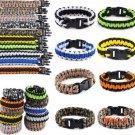 1PC Fashion Paracord Bracelets Kit Military Emergency Survival Bracelet Men Self-rescue Pa