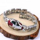 Fashion Avengers Iron Man Bracelet Superhero Zinc Alloy Chain Silver Blue Red Bracelets &a