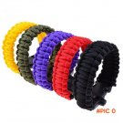 Outdoor Camping Hiking Sport Survival Bangle Cord Wristbands Emergency Rope Military Emerg