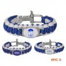 Custom Greek Letters  550 Paracord Bracelets  Phi Beta Sigma  Fraternity   Adjustable Surv