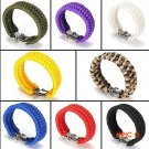 Outdoor Mountaineering Emergency Camping Military 7-Strands Paracord Survival Bracelet Rop