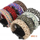 Rescue Rope Popular Flint Fire Escape Bracelet Survival Gear Outdoor 4 in 1 BC1250