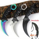 CS GO Counter Strike Karambit Knife handmade hunting knives Fighting Claw Knife tactical s