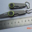 EDC Gear Fold mini pocket keychain knife for zipper backpack key chain camp hike outdoor c