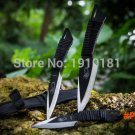 (3pcs in 1Sets) !! Hunting Knives Outdoor camping Survival Knife 440C Stainless Steel Shea