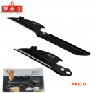 BaiLianFang Mice folding knife bottle opener multi tool knife key camping survival wallet