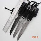 Stainless Steel Survival Knife Fixed Blade Hunting Knife Outdoor Fishing Tactical Knife Me
