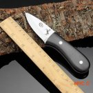 COLT handmade hunting knife 440c blade outdoor camping survival tactics fixed knife ebony