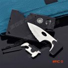 9 in 1 Survival Card Knife Credit Card Companion by Carzor Pocket Multi Tool Kit BC173