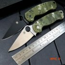 Custom C81 G10 handle 9cr13 steel blade folding knife outdoor camping survival tool Tactic