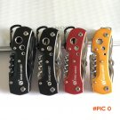 4 Colors High Quality Swiss Knife Outdoor Camping Survival Army Folding Knife Multifunctio