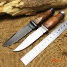 2 Options! KA-BAR USN MK1 Camping Fixed Knives,7Cr17Mov Blade Hunting Knife,Tactical Survi