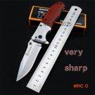 Browning laser folding redwood knife outdoor self-defense with saber wilderness survival p