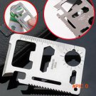 11 in 1 Emergency Outdoor Multi Tool Army Marine Military Hunting Survival Kit Pocket Wall