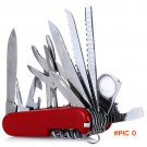 New Swiss 91mm Foldable Multifunctional Army Knives Outdoor Survival Camping Travel Stainl
