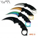 CS GO Fixed Blade Knife Never Fade Counter Strike Karambit Tactical Fighting Claw Knives S
