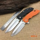 HINDERER CTS-18HP XM-18 Tactical Folding Knives,7Cr17Mov Blade G10 Handle Camping Survival
