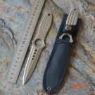 Professional Training Knife US Leggings Diving Straight Knife Outdoor Camping Survival Kni