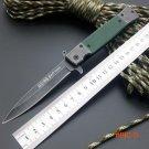 Folding  Knife SOG Pocket Survival Knife 440 Blade G10 Handle Hunting Tactical Knives Camp