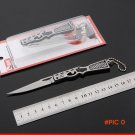 Creative Mini Key Chain folding knife stainless steel blade survival Outdoor camping tool