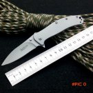 Survival Knife Kershaw Pocket Folding Knife 8CR17MOV Blade Titanium Coating Tactical Hunti
