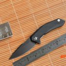 Fule 0095BW 9Cr18MoV blade G10 handle steel ball Bearing folding knife camping hunting out