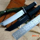 Newest RECON TANTO SAN MAI Cold Steel Fixed Knives D2 Blade ABS Handle Sanding Outdoor Sur